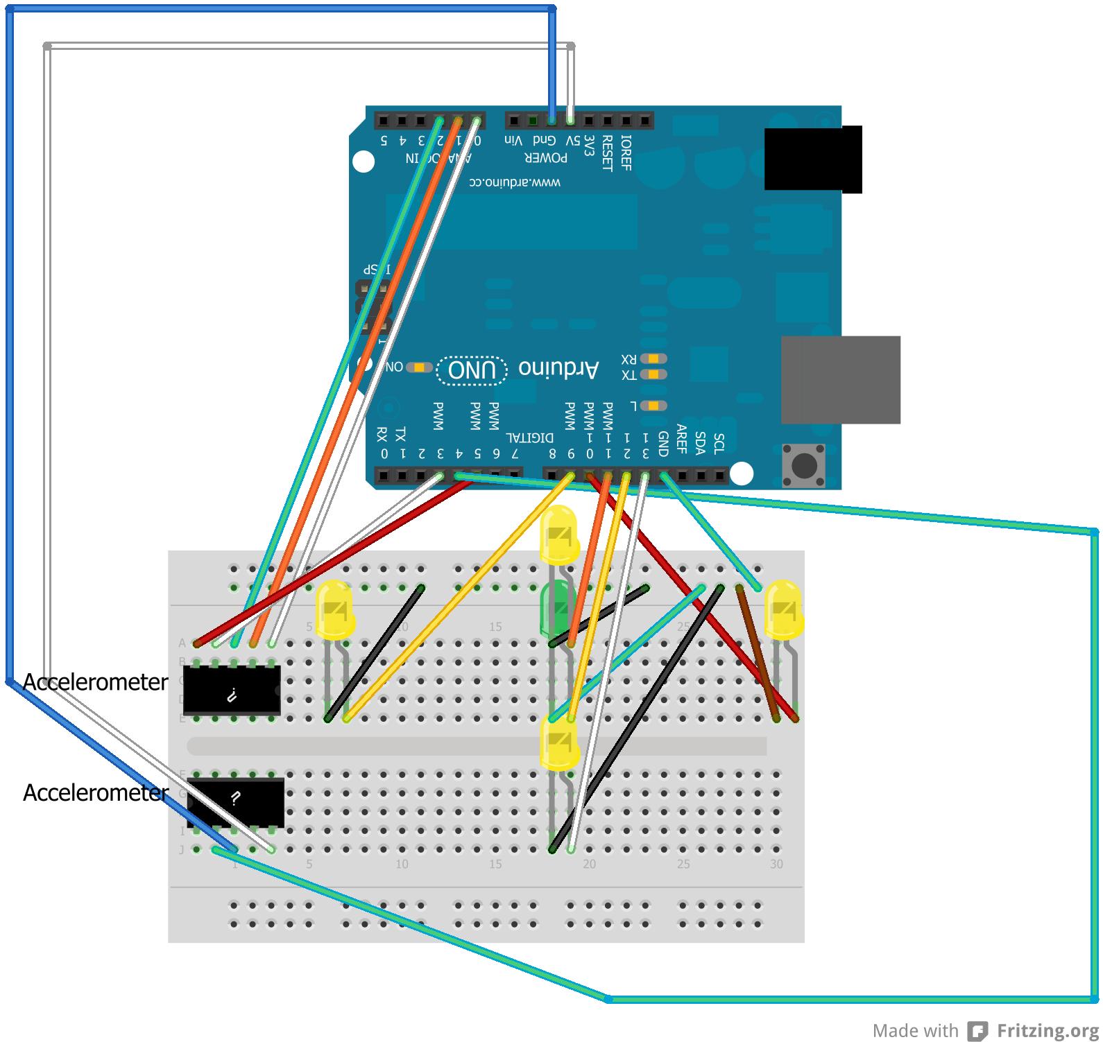 Arduino Project 3: Accelerometer Primer - AlexDGlover