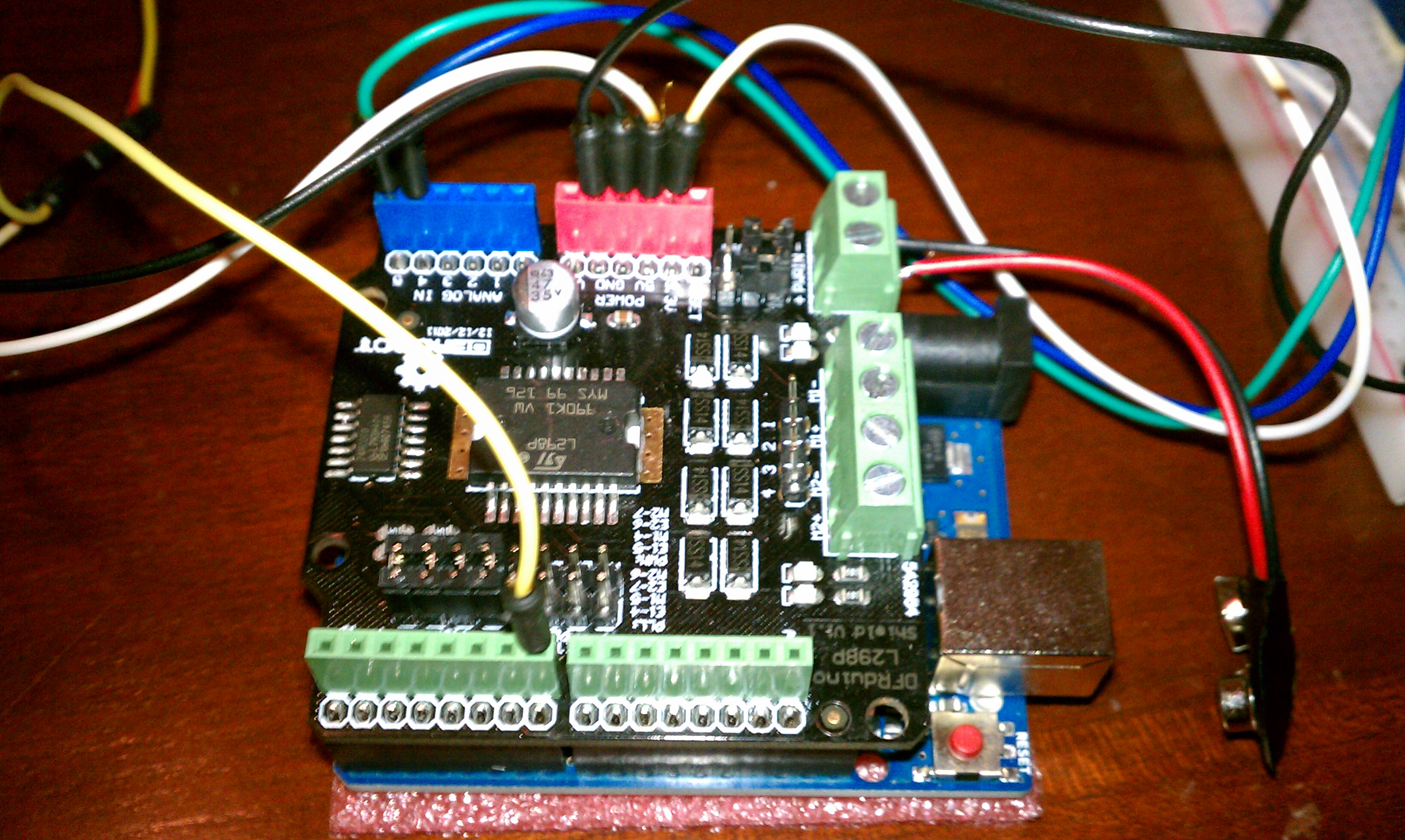Arduino and Motor Shield